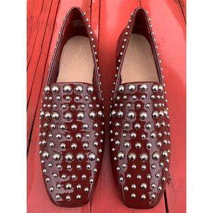 Halogen Kaylee Studded Slip On Loafers